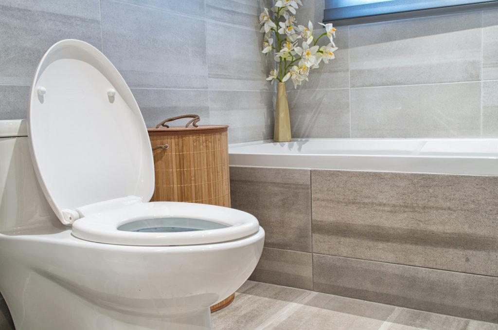 Modern bathroom in luxury house