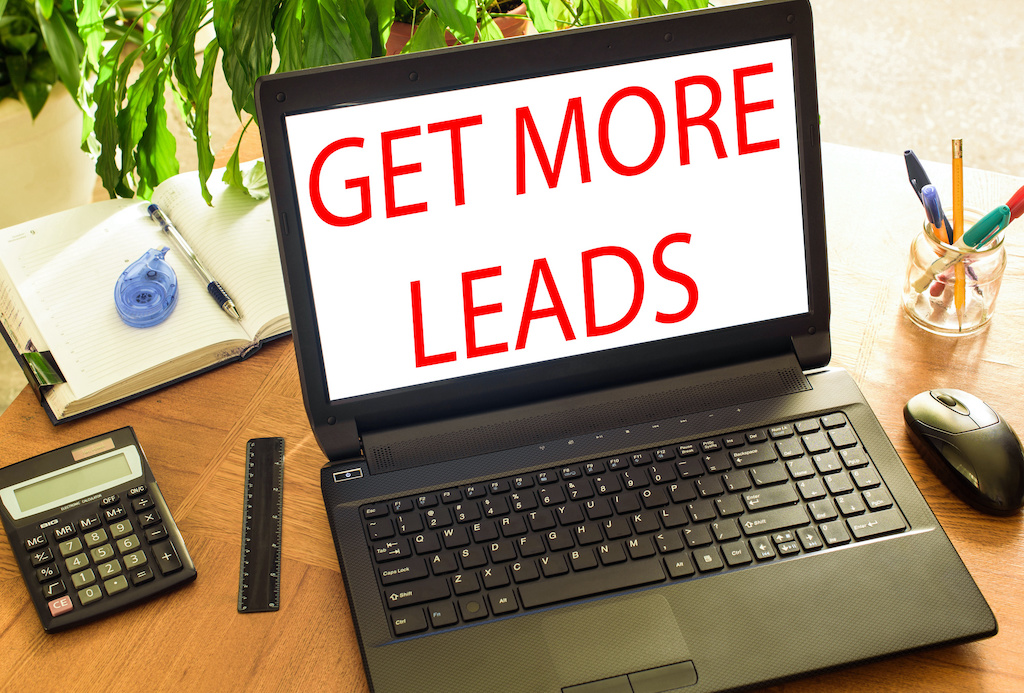 Get more leads. Concept office
