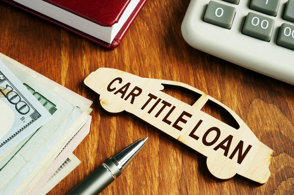 Car title loan concept