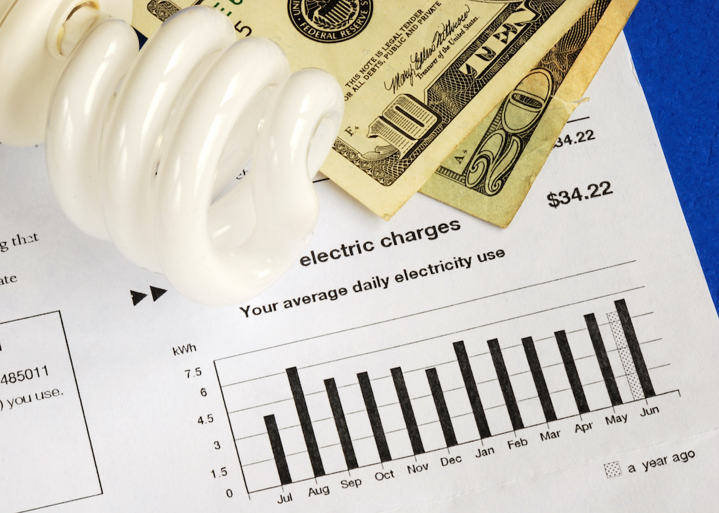 Save money by using energy savings