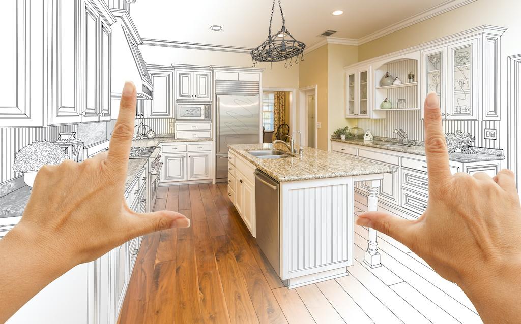 Gradated Custom Kitchen Design