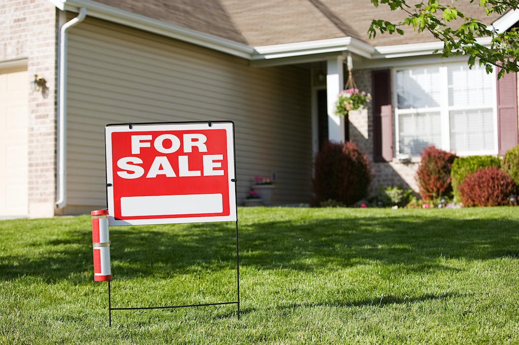 Home: Sign in Front of Home